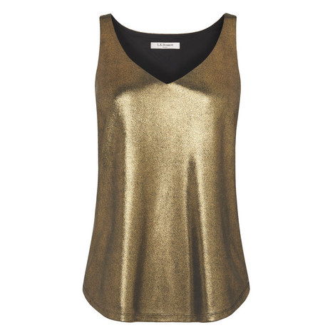 Ginn Foil Jersey Top, ${color}