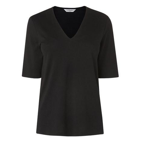 Lorna V-Neck T-Shirt, ${color}