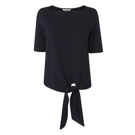Karlie Knot Tie Top, ${color}