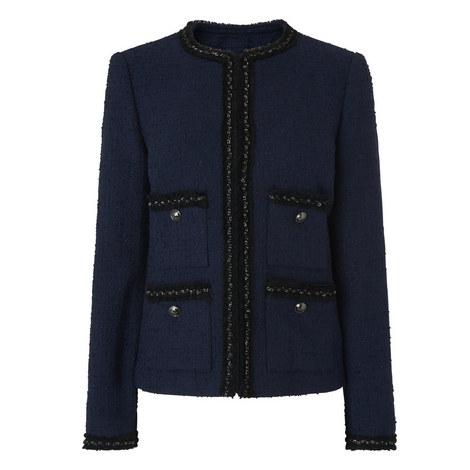 Halyna Tweed Jacket, ${color}