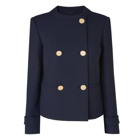 Bay Double-Breasted Jacket, ${color}