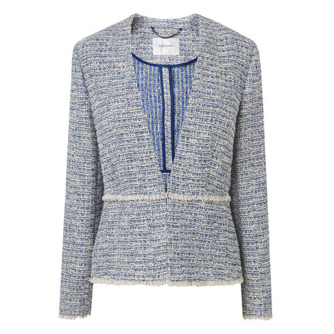 Rafia Tweed Blazer, ${color}