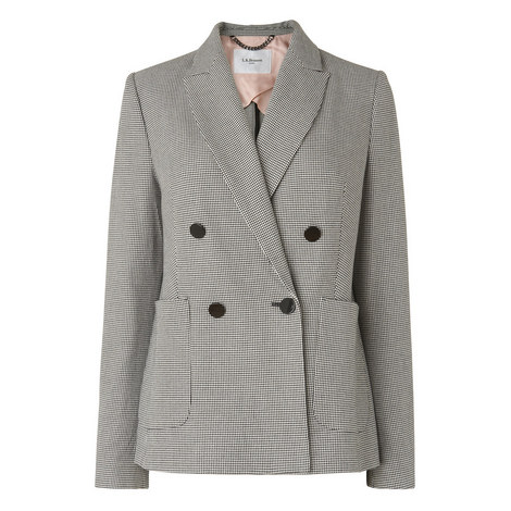 Jetti Double-Breasted Blazer, ${color}