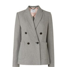 Jetti Double-Breasted Blazer