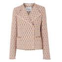Heather Cotton Mix Jacket, ${color}
