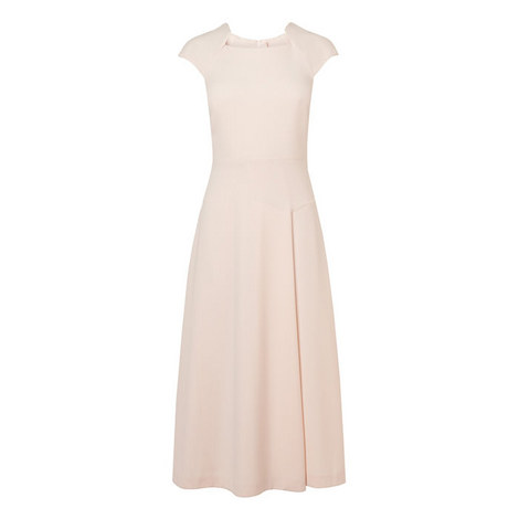 Elize Fit and Flare Dress, ${color}