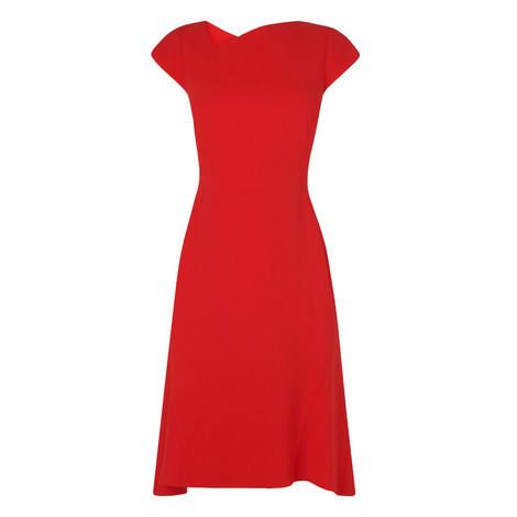 Ire Fit-and-Flare Dress, ${color}