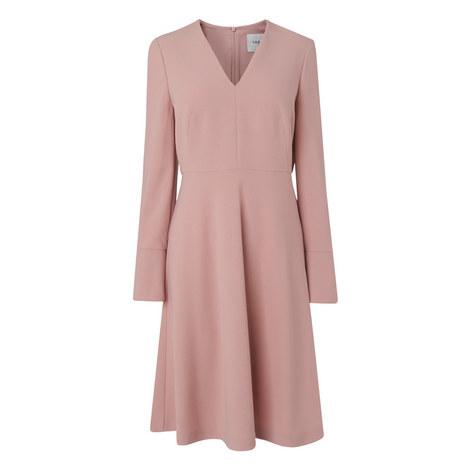 Amana Tailored A-Line Dress, ${color}