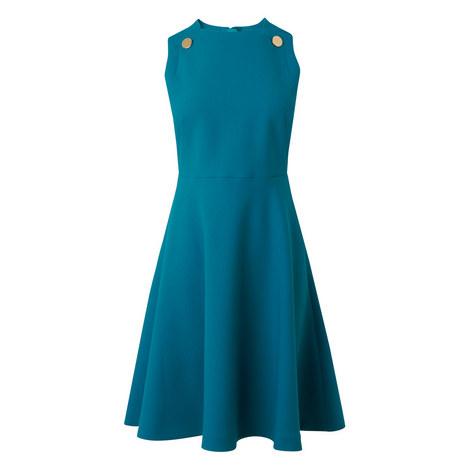 Bayna Apron Front Dress, ${color}