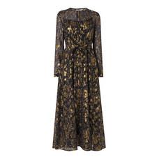 Elowen Gathered Midi Dress