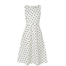 Octavia Cotton A-Line Dress