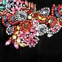 Patti Embellished Velvet Dress, ${color}