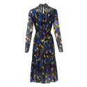 Reed Victoriana Rose Print Dress, ${color}