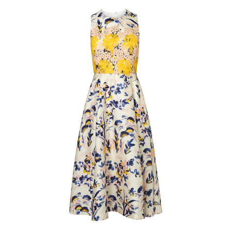 Ine Silk Dress, ${color}