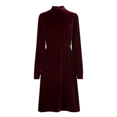 Charlie Velvet Dress, ${color}