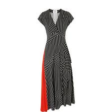 Shelly Draped Jersey Dress