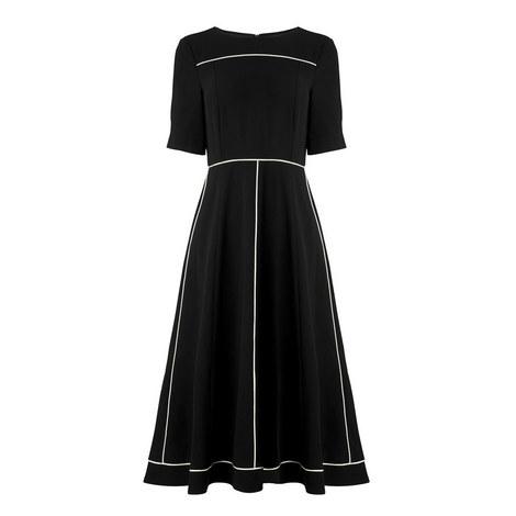 Indina Flared Midi Dress, ${color}