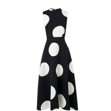 Marlin A-Line Midi Dress