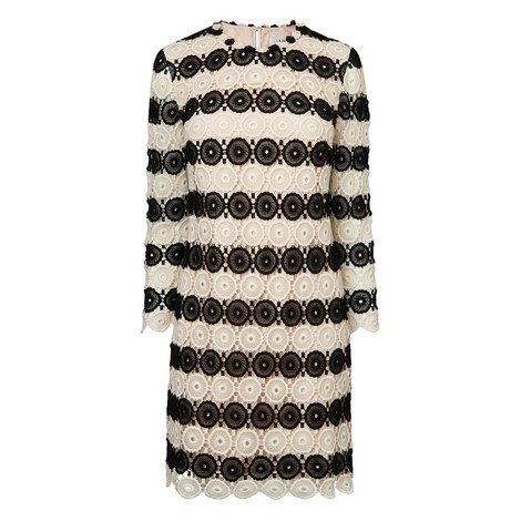 Claudine Crochet Shift Dress, ${color}