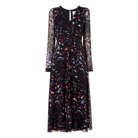Ally Devoré Spot Dress, ${color}