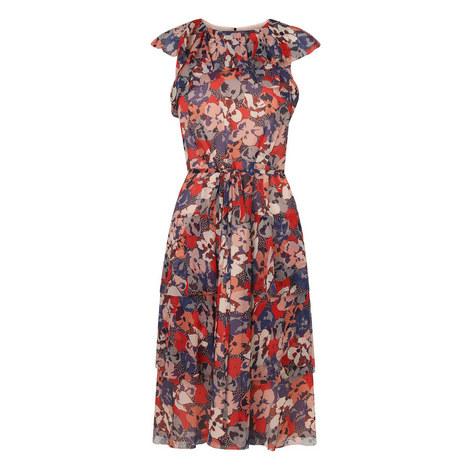 Kayla Ruffle Dress, ${color}
