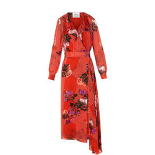 Vali Drape Wrap Dress