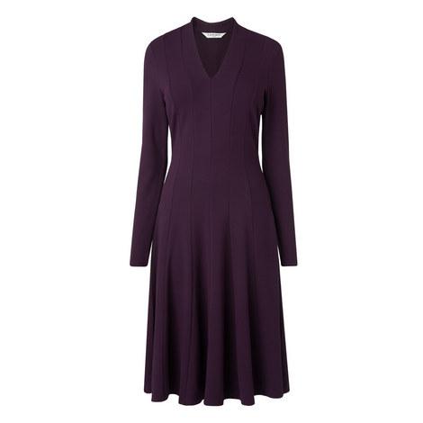 Aviana Pleated Dress, ${color}