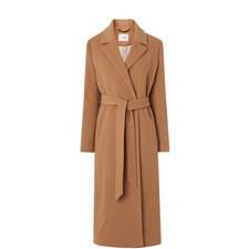 Clara Wool Wrap Coat
