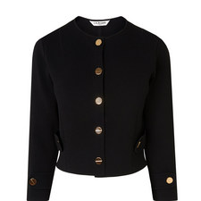 Myriam Cropped Military Cardigan