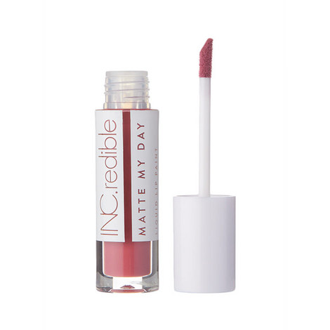 INC.redible Matte My Day Liquid Lipstick Throwin it Back, ${color}