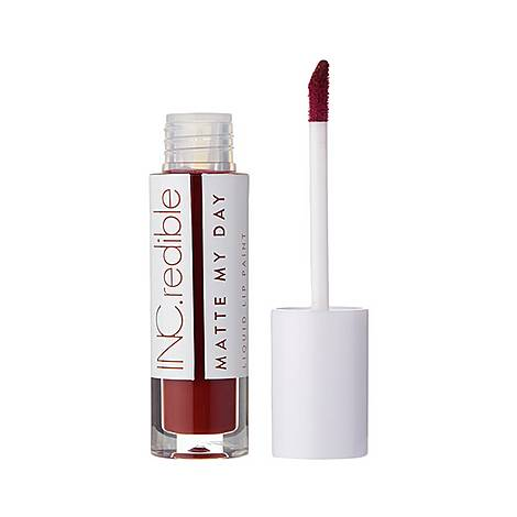 INC.redible Matte My Day Liquid Lipstick Too Bad, ${color}