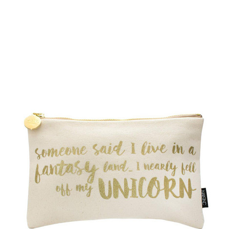 Unicorn Cosmetic Bag, ${color}