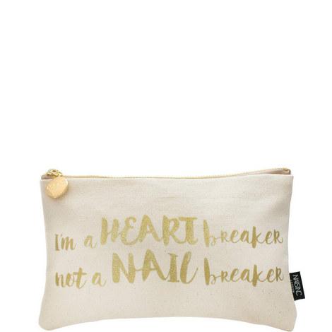HEARTBREAKER COSMETIC BAG, ${color}