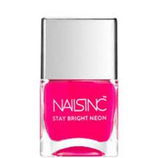 Nails inc Claridge Gardens Stay Bright Neon nail polish