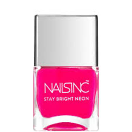 Nails inc Claridge Gardens Stay Bright Neon nail polish, ${color}