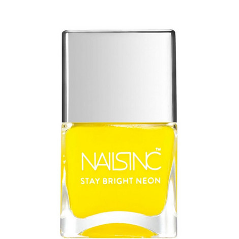 Nails inc Golden Lane Stay Bright Neon nail polish, ${color}