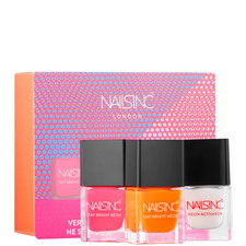 Nails inc High Performance Neon nail polish Collection