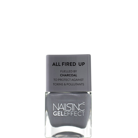 Spencer Street Gel effect Nail Polish Fuelled by Charcoal, ${color}