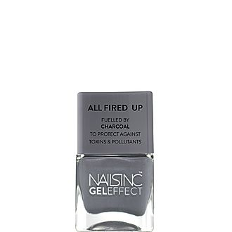 Spencer Street Gel effect Nail Polish Fuelled by Charcoal