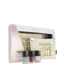 Nails inc Peace. Love. Kale. Gift Set