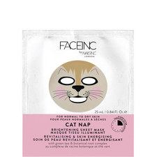 CAT NAP SHEET MASK revitalising & fatigue fighting.