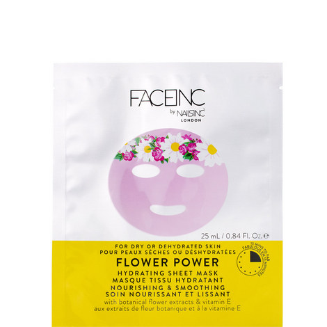 Face inc FLOWER POWER SHEET MASK nourishing & anti pollutant protection., ${color}