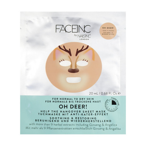 Oh Deer Sheet Mask, ${color}