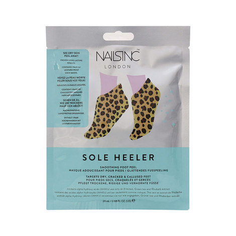 Sole Heeler Smoothing Foot Peel Masks, ${color}