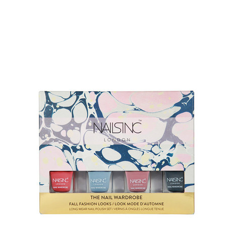 Set of 4 Nail Polishes 5ml, ${color}