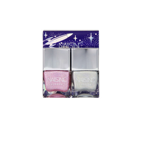 Holler Graphic Nail Polish Duo Kit 2 x 14ml, ${color}