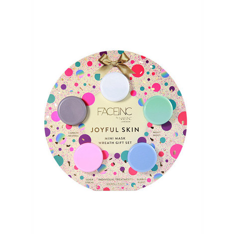 Joyful Skin Mini Mask Wreath Gift Set, ${color}