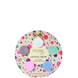 Joyful Skin Mini Mask Wreath Gift Set