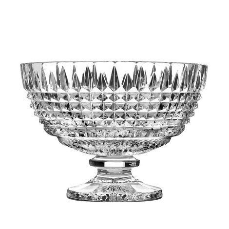 Lismore Diamond Footed Centrepiece 30cm, ${color}