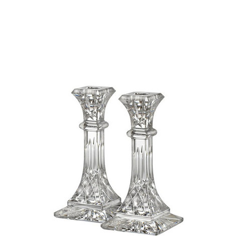 Two Lismore Candlestick 8in, ${color}